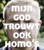 mijn god trouwt ook homo's